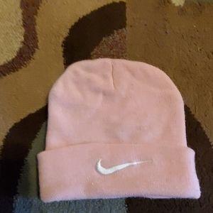 💚💚Pink Nike Beanie Cap